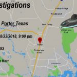 Ufo Over Porter, Texas – August 23, 2018   The Black Vault Case Files   Porter Texas Map