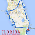 Uncover The Perfect Florida Road Trip | Florida | Road Trip Map   Road Map Florida Keys