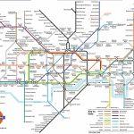 Underground: London Metro Map, England   Printable London Underground Map