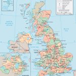United Kingdom Map   England, Wales, Scotland, Northern Ireland   Printable Map Of Ireland And Scotland