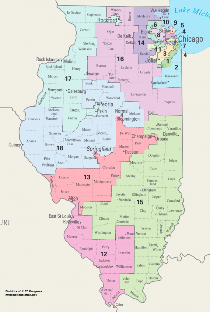 United States Congressional Delegations From Illinois - Wikipedia - Texas 14Th Congressional District Map