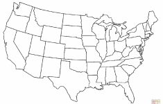 United States Map Coloring Page Printable Save Printable Blank Us – United States Color Map Printable