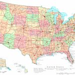 United States Printable Map   Map Of The Us States Printable