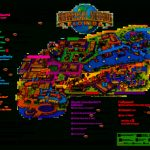 Universal Orlando Park Map 2013 | Orlando Theme Park News: Wdw   Map Of Theme Parks In Florida
