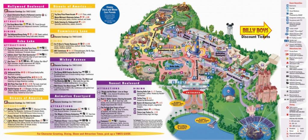Universal Studios California Map Pdf Universal Studios Orlando Park - California Adventure Map 2017 Pdf