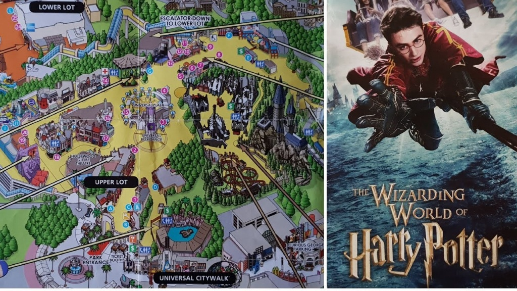 Universal Studios Hollywood Map Luke California River Of Gallery - Universal Studios Map California 2018