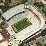 University Of Texas At Austin Football   University Of Texas Football Stadium Map