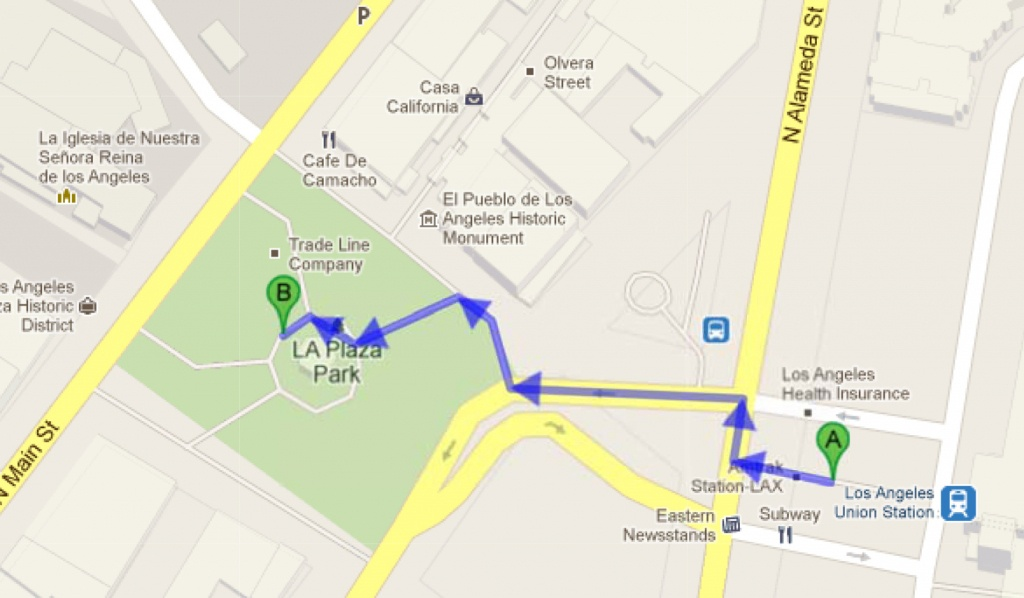 Unknown Road To Unknown Road – Google Maps | The Metroduo Blog - La California Google Maps