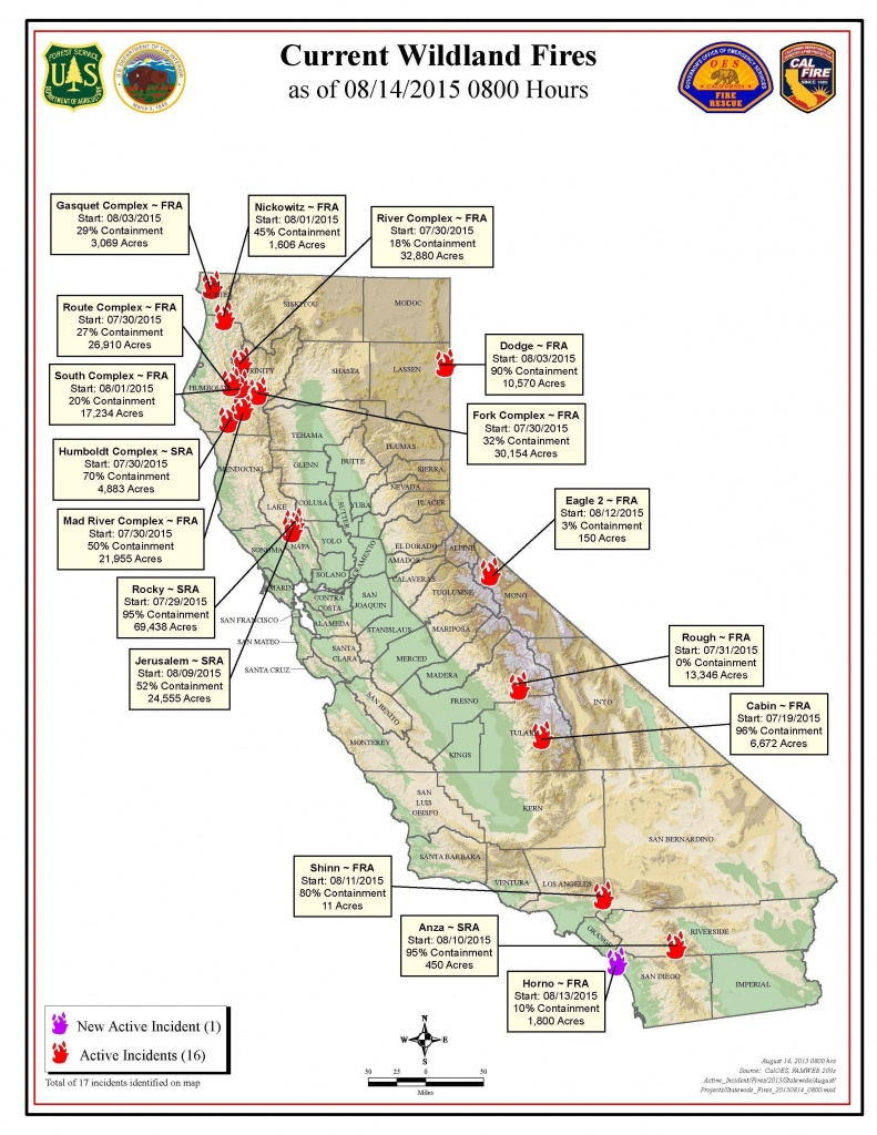 Us Forest Service Fire Map California | California Map 2018 Inside - California Forest Service Maps