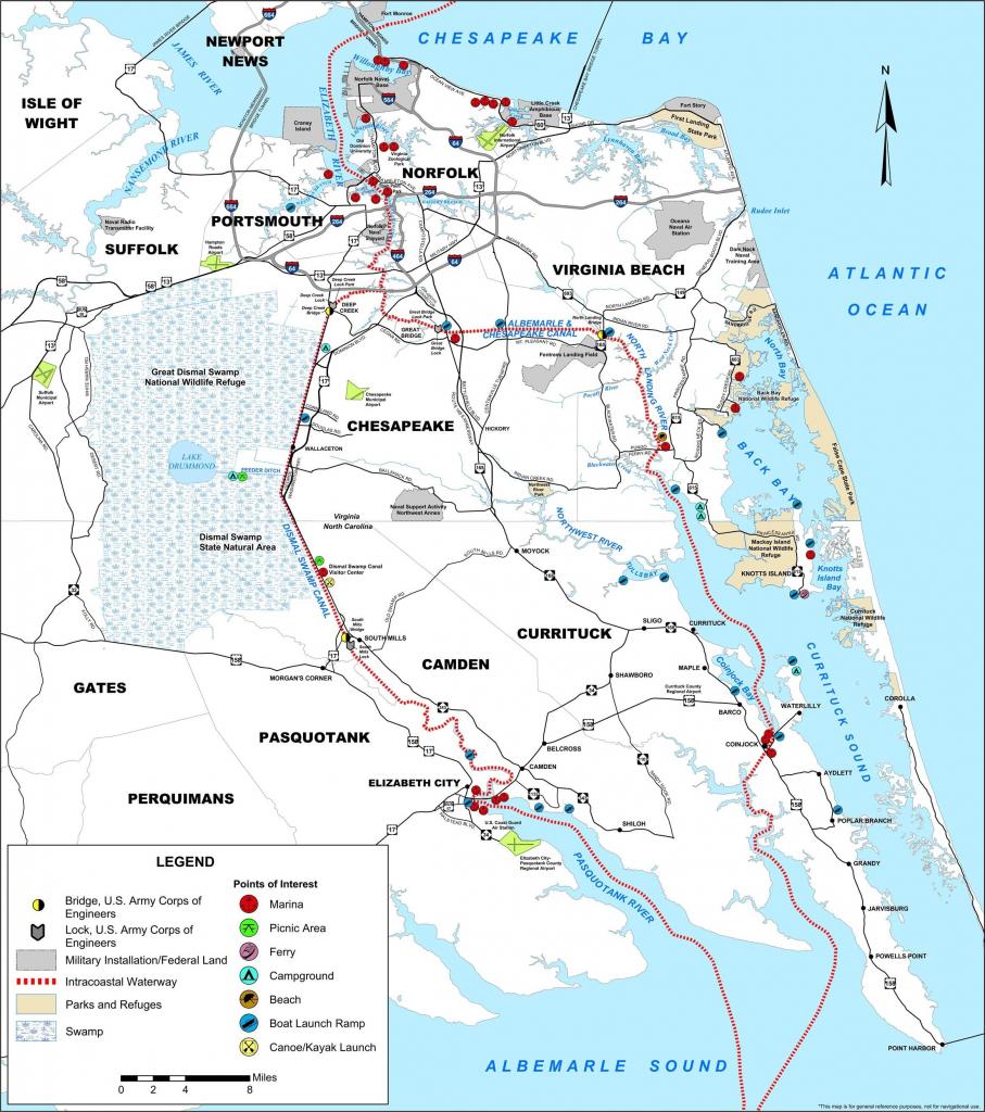 Us Intracoastal Waterway Map Icw1 Image001 Elegant Florida Georgia - Hilton Head Florida Map