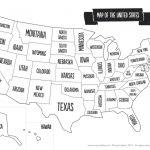 Us Map The South Printable Usa Map Print New Printable Blank Us   Printable Us Map With States