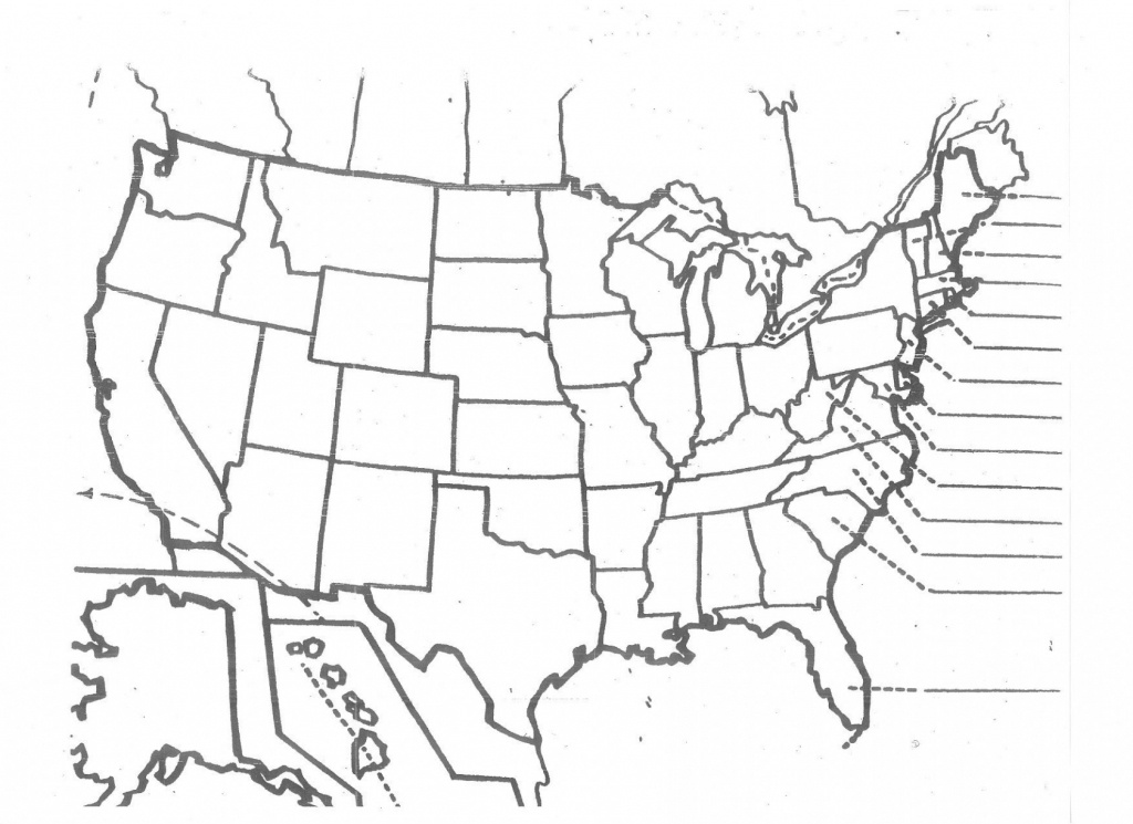 Us Map Unlabeled - Climatejourney - Us Map Quiz Printable