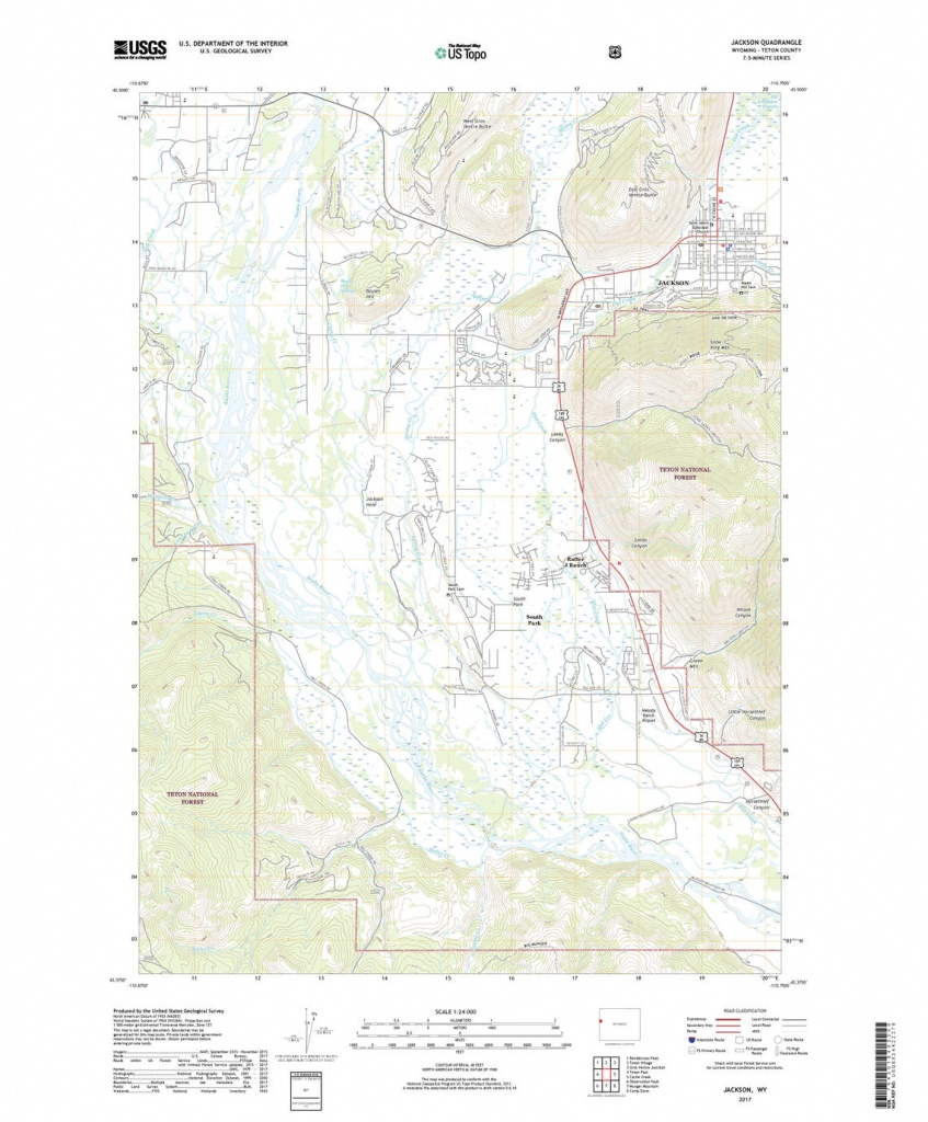 Us Topo: Maps For America - Printable Topographic Map