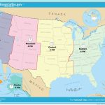 Usa Full Size Map   Hepsimaharet   Canada Time Zone Map Printable