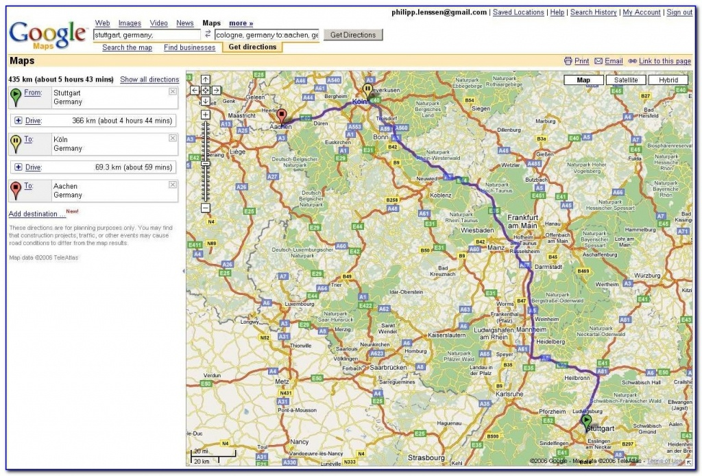 Usa Map Driving Directions Google Maps Driving Directions Free - Printable Driving Directions Google Maps