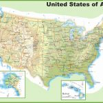 Usa Maps | Maps Of United States Of America (Usa, U.s.)   Physical Map Of The United States Printable