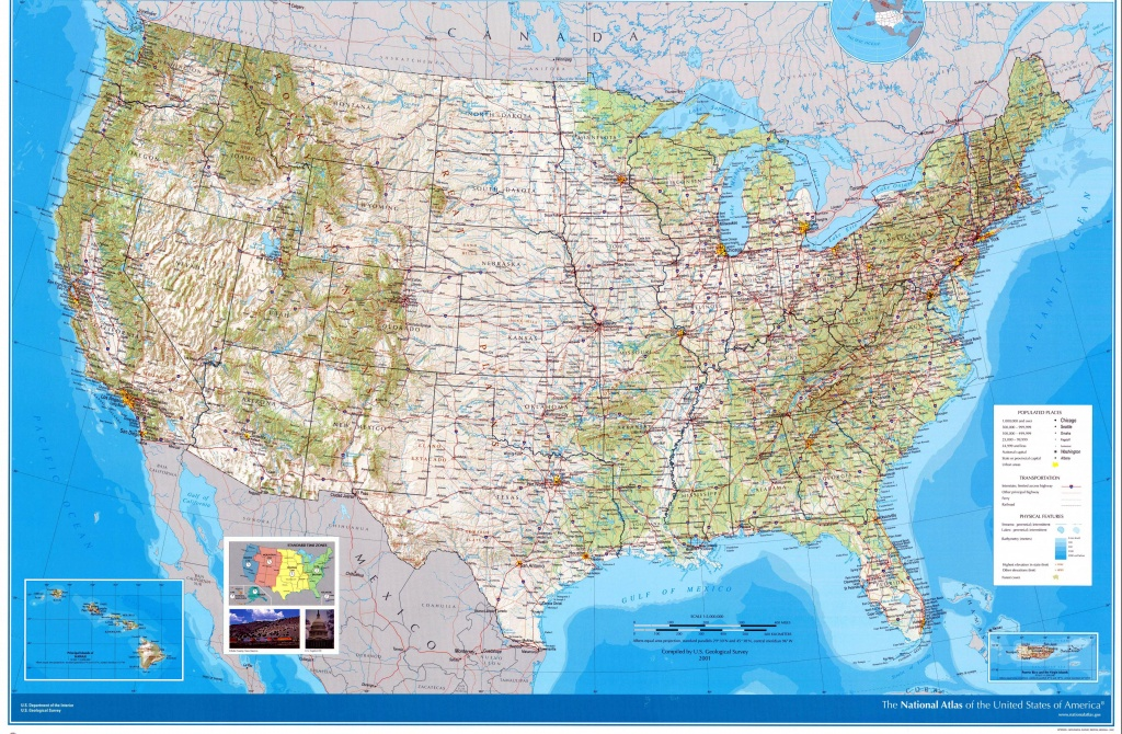 Usa Maps | Printable Maps Of Usa For Download - United States Road Map Printable