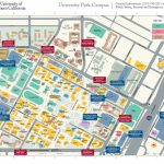 Usc University Park Campus Parking Structures, Entrances Get New   University Of Southern California Map