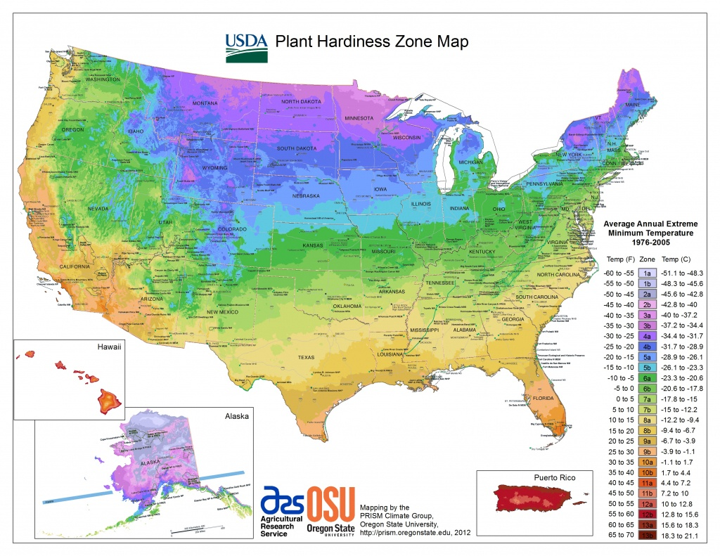 Usda Hardiness Zone Finder - Garden - Usda Map California