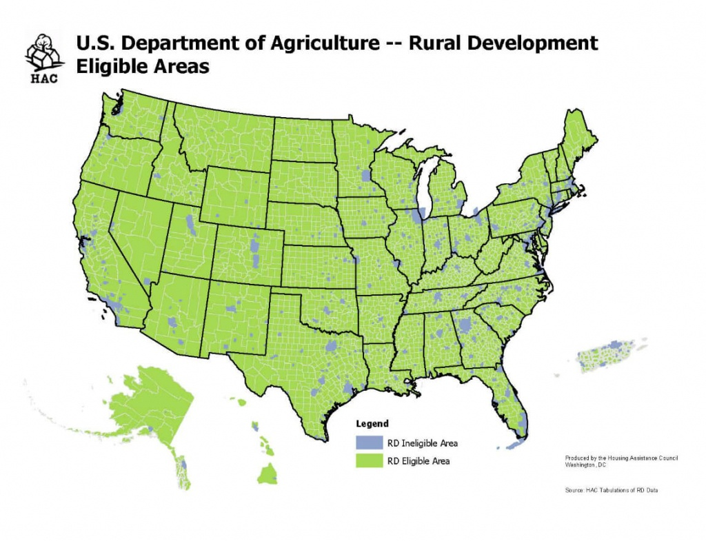 Usda Home Loan Requirements [Updated 2018] | The Lenders Network - Usda Map California
