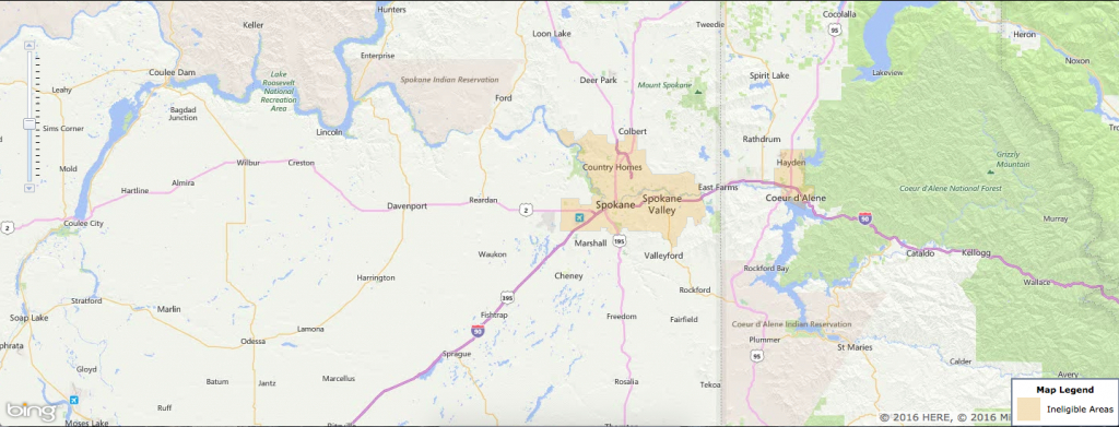 Usda Rural Development Loan - Spokane, Wa - Usa Home Financing - Usda Loan Map Texas