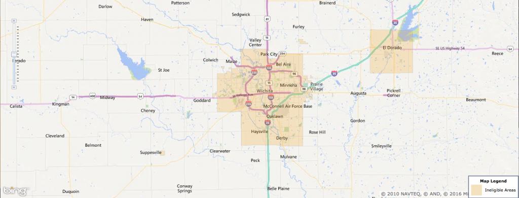 Usda Rural Development Loan - Wichita, Ks - Usa Home Financing - Usda Loan Map California