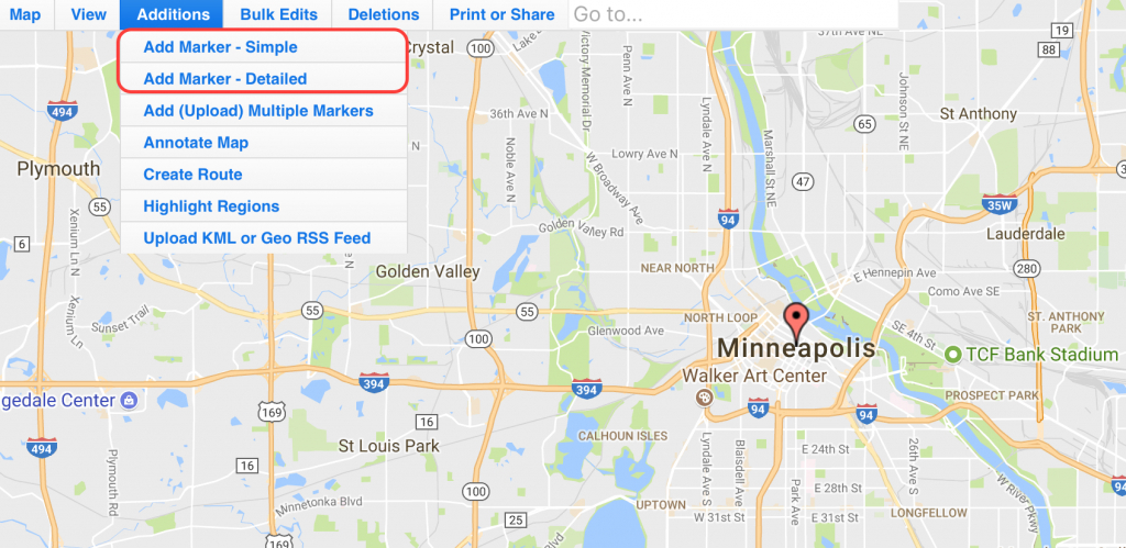 Use Map Maker To Add Locations On An Interactive Zeemaps Map - Printable Map Maker