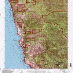 Usgs Topo Map California Ca Cape San Martin 100481 1995 24000   San Martin California Map