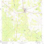 Usgs Topo Map Florida Fl Branford 345301 1968 24000 Restoration   Branford Florida Map