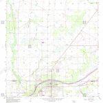 Usgs Topo Map Florida Fl La Belle 346953 1958 24000 Restoration   Labelle Florida Map