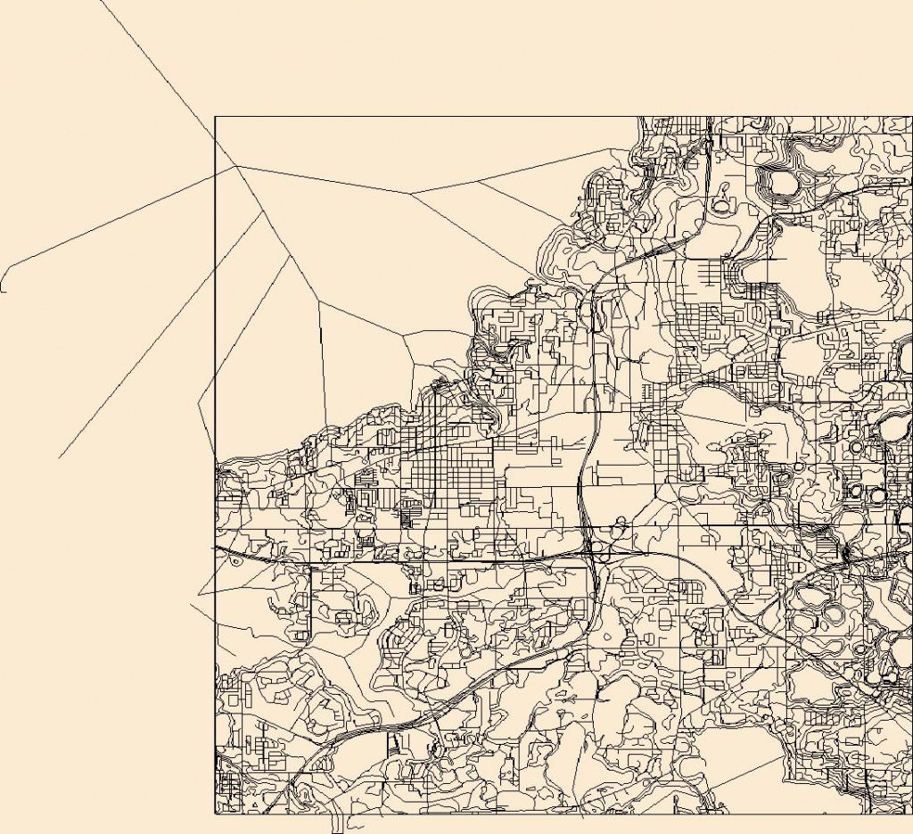 Usgs Topo Map Vector Data (Vector) 49546 Winter Garden, Florida - Winter Garden Florida Map