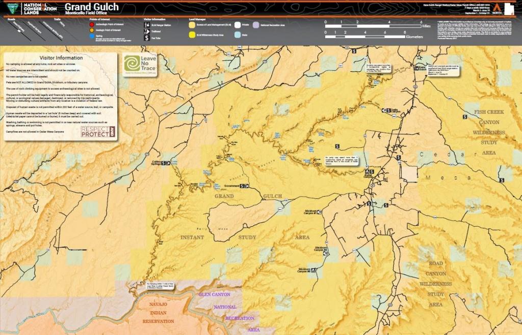 Utah - Maps | Bureau Of Land Management - Blm Land Map Southern California