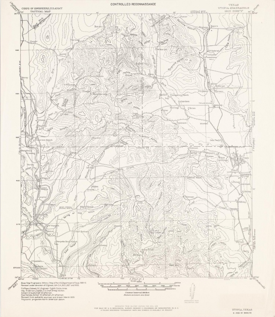 Utopia Texas Map - World Maps - Utopia Texas Map