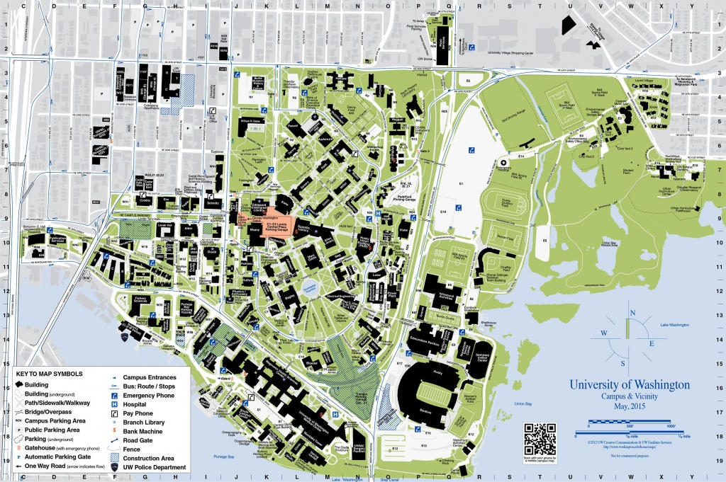 Uw Campus Maps | Dehazelmuis - Printable Uw Madison Campus Map