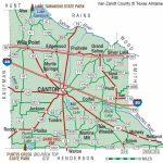 Van Zandt County | The Handbook Of Texas Online| Texas State   Canton Texas Map