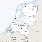 Vector Map Of Netherlands Political | One Stop Map   Printable Map Of Holland