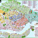 Venice Attractions Map Pdf   Free Printable Tourist Map Venice   Venice City Map Printable