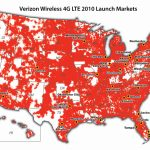 Verizon Coverage Map Us Verizon Us Coverage Map | Travel Maps And   Verizon Coverage Map In California