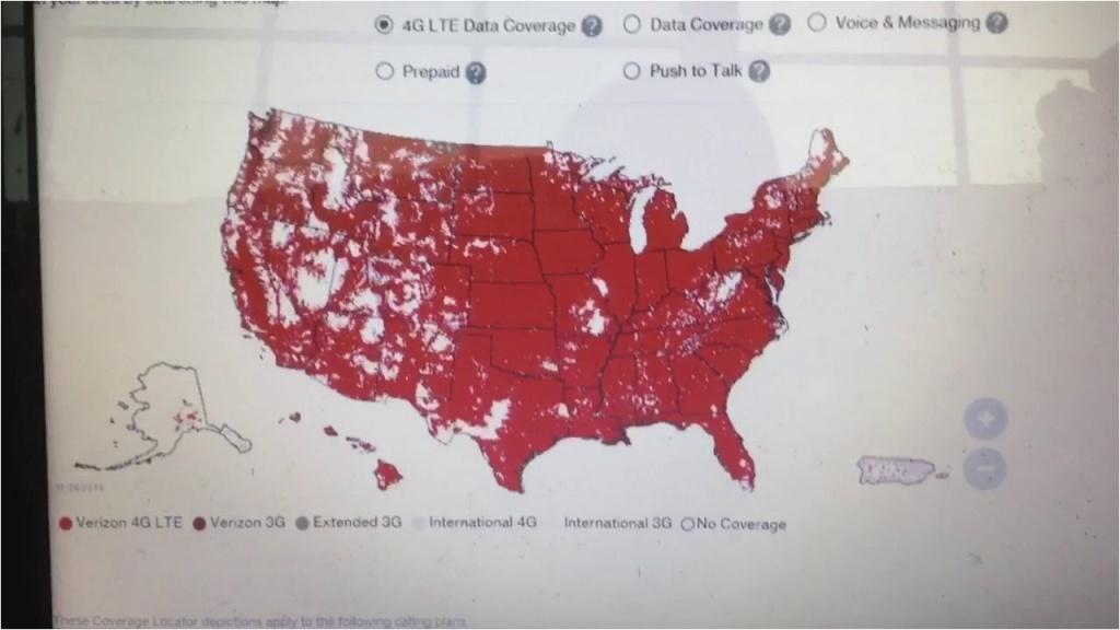 Verizon Wireless Coverage Map Minnesota Verizon Vs Sprint Coverage - Verizon Wireless Coverage Map California