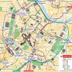 Vienna Map Ubahn Underground Subway Metro Stations Tram Stops   Printable Map Of Vienna
