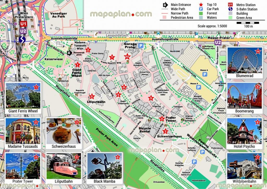 Vienna Maps Top Tourist Attractions Free Printable City – Vienna - Budapest Tourist Map Printable