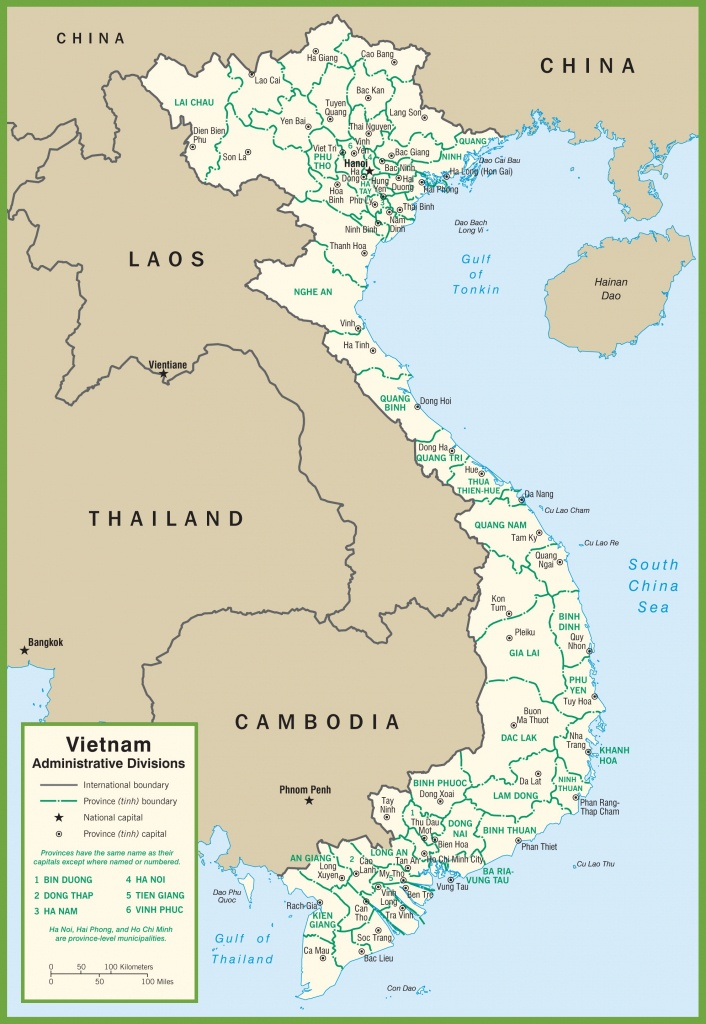 Vietnam Maps | Maps Of Vietnam - Printable Map Of Vietnam