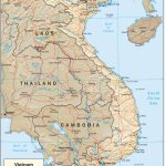 Vietnam Maps   Perry Castañeda Map Collection   Ut Library Online   Printable Map Of Vietnam
