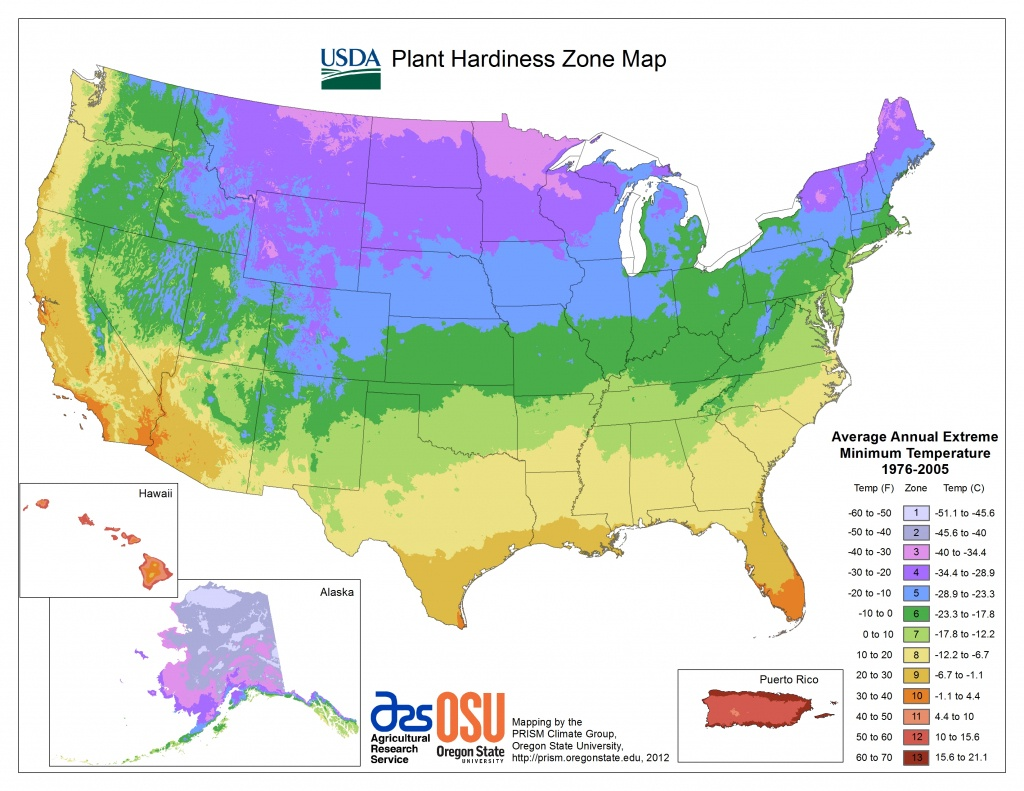 View Maps | Usda Plant Hardiness Zone Map - California Heat Zone Map