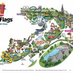 Vintage Six Flags Over Texas Park Map 1 10 | Sitedesignco   Six Flags Over Texas Map App