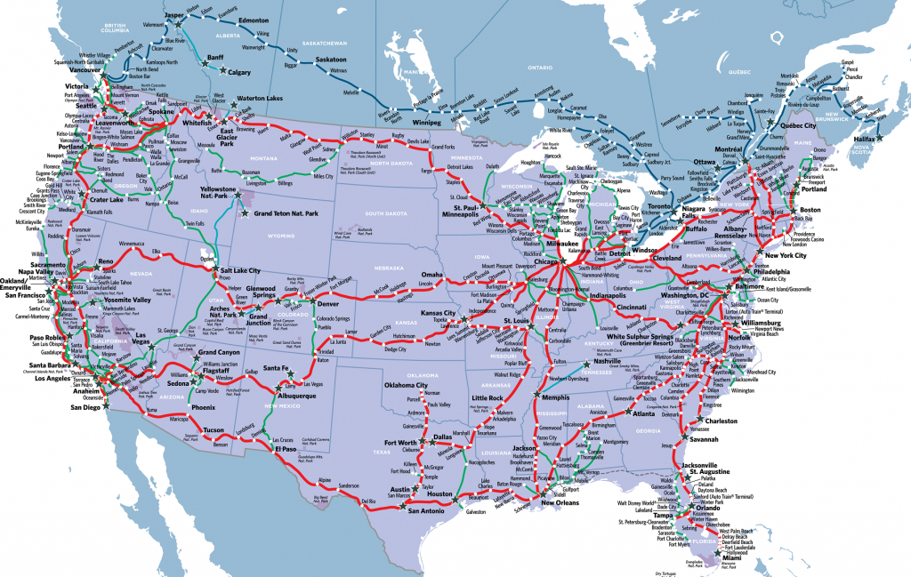 Visit America's Most Stunning National Parkstrain In 2019 - California Zephyr Map