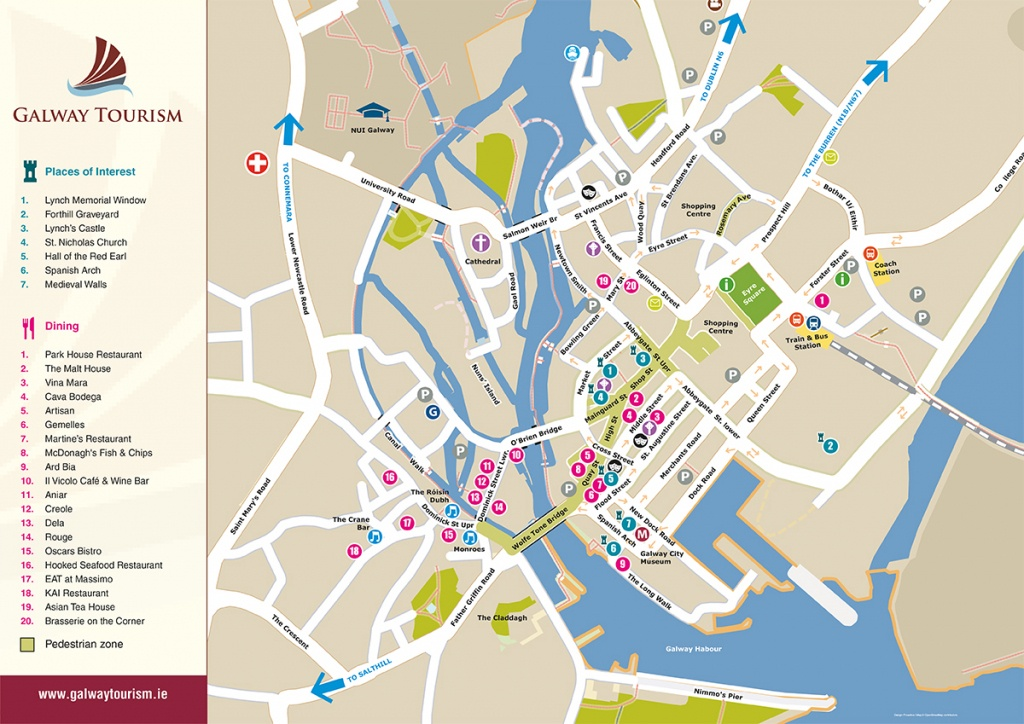 Visit Galway 2018   Festivals   Galway Bay Hotel - Galway City Map Printable