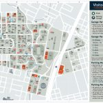 Visitor's Map | Parking & Transportation | The University Of Texas   Printable Map Of Austin Tx