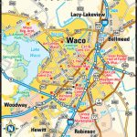 Waco Map And Travel Information | Download Free Waco Map   Printable Map Of Waco Texas