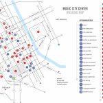Walking Map | Nashvillemusiccitycenter   Printable Map Of Nashville